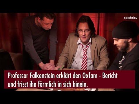 Professor Falkenstein erklärt den aktuellen Oxfam Bericht.