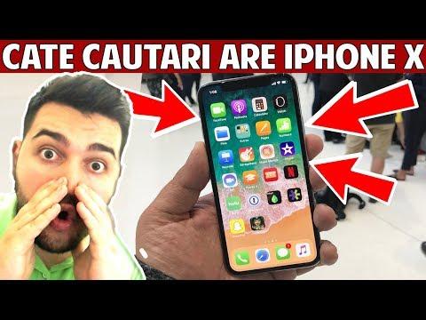 CATE CAUTARI ARE IPHONE X in ROMANIA??