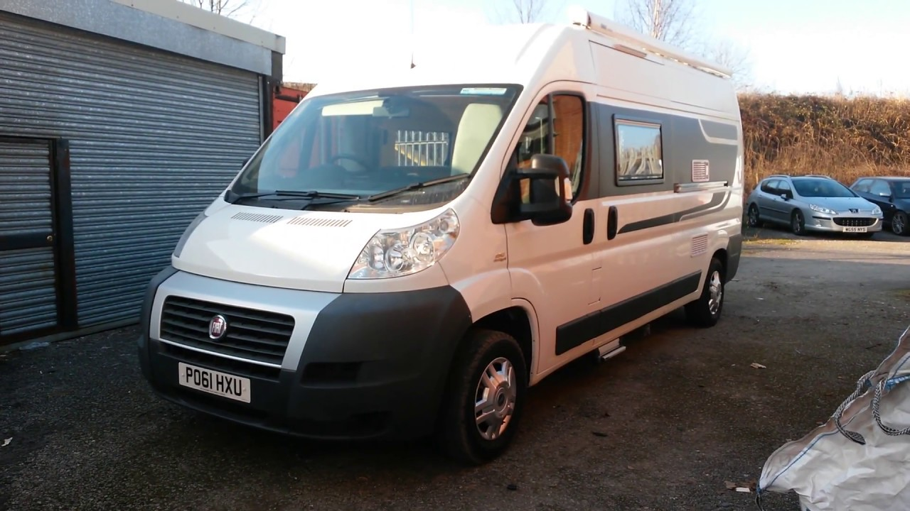 brand new fiat ducato campervan conversion full tour nu. Black Bedroom Furniture Sets. Home Design Ideas