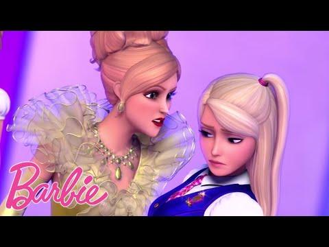 Смотреть мультфильм барби академия принцесс 2 серия
