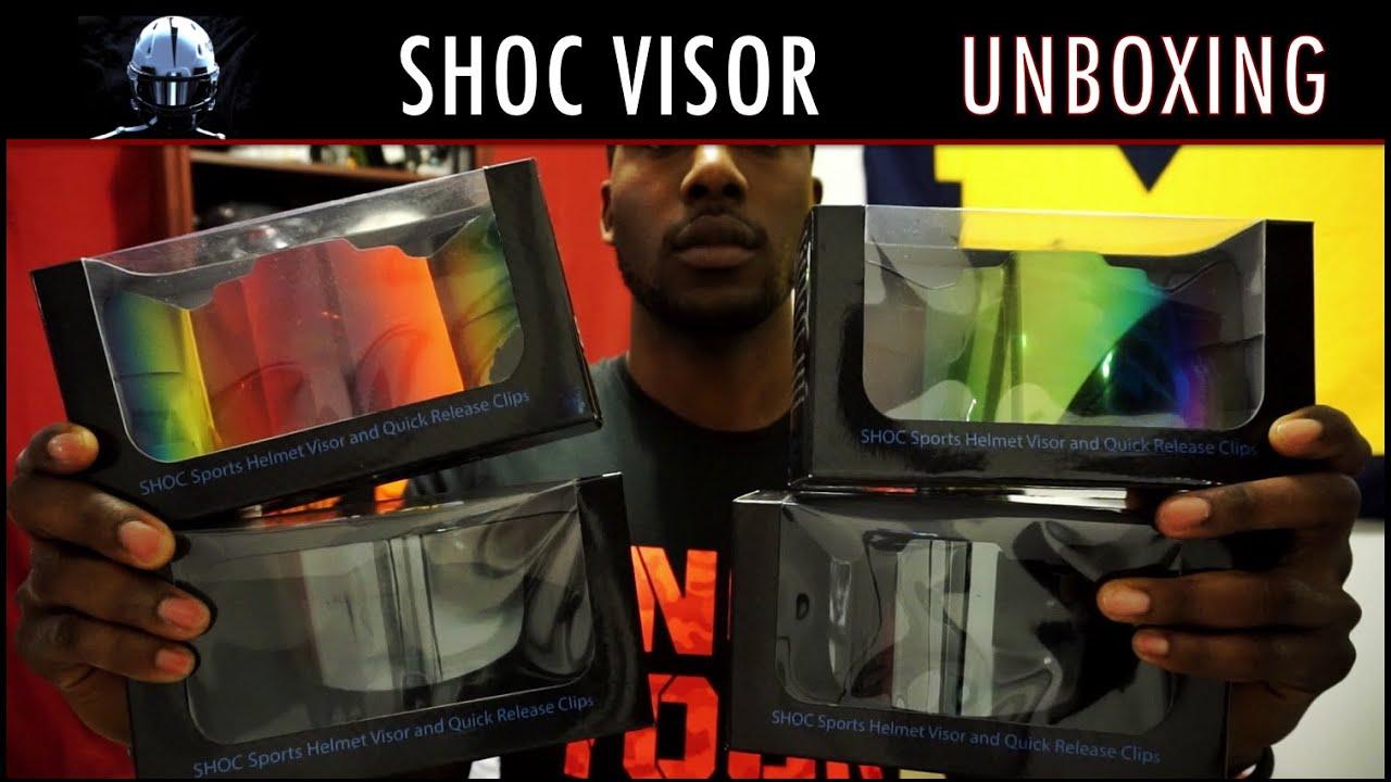 5d679fbe SHOC Visor Unboxing - Ep. 237 - YouTube