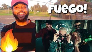 Fire Major Lazer - Que Calor (feat. J Balvin & El Alfa) (Official Music Video) React ...