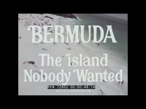 "1968 BERMUDA TRAVELOGUE ""THE ISLAND NOBODY WANTED"" w/ MARK TWAIN 72802"