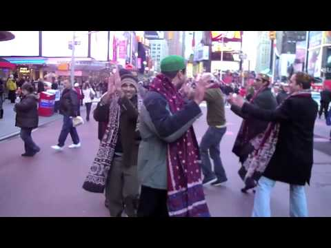 Ho Jamalo, Sindhi Topi Day USA- Times Square New York, Mahboob Dahani