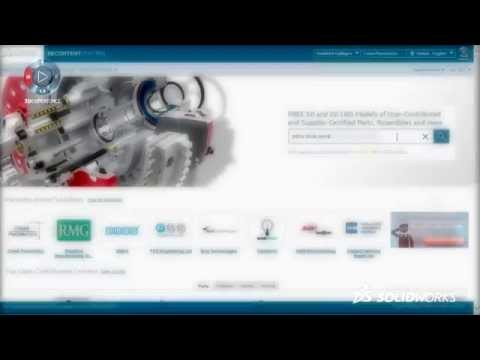 SOLIDWORKS 3D ContentCentral Supplier Services