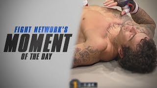Moment of the Day: Djo Lema Brutalizes Scott Jansen at UCMMA 12