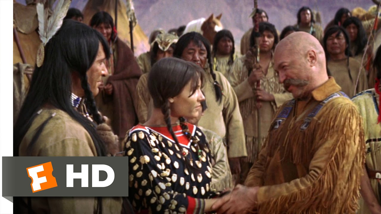 jeremiah johnson 37 movie clip jeremiah gets married