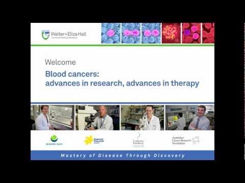 Public lecture (2010): Blood Cancers