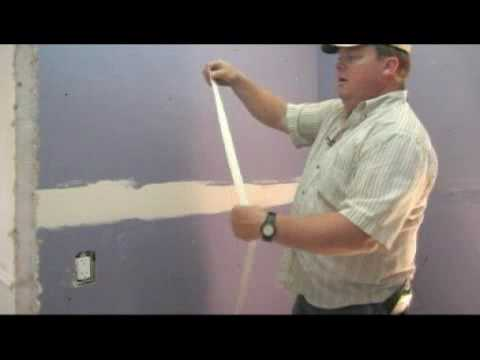 Bathroom Joint Compound adding a bathroom to a home : applying mud to drywall - youtube