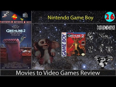 Movies to Video Games Review -- Gremlins 2 (Game Boy)