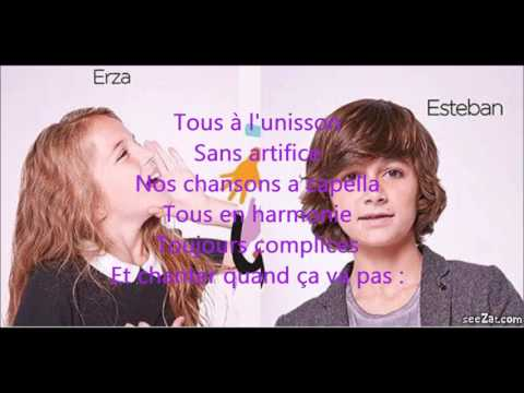 le monde nous appartiendra - kids united - paroles