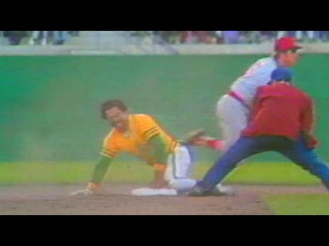 1975 ALCS Gm3: Yaz throws out Reggie to end 4th