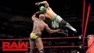 Kalisto vs. Titus O'Neil: Raw, June 5, 2017
