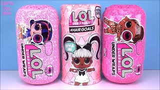 LOL Surprise HairGoals Under WRAPS Series 5 4 Eye Spy Makeover DOLLS Wave 1 2 Unboxing TOYS