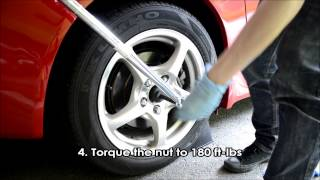 Honda S2000 - DIY Rear Axle Nut TSB