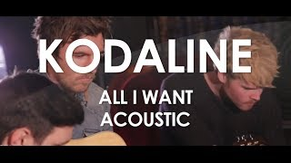 Kodaline - All I Want - Acoustic [ Live in Paris ]