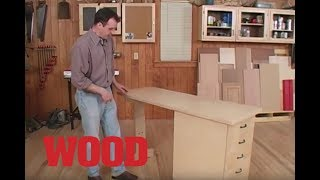 Video How To Make a Shop Cart / Workbench - WOOD magazine
