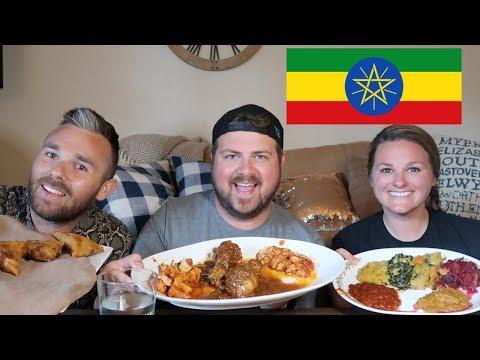 Ethiopian Food (MUKBANG)