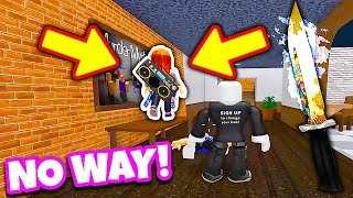 SHE GAVE ME A FREE GODLY! (Roblox Murder Mystery 2) *INSANE*