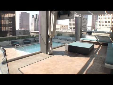 The Roosevelt Lofts Downtown Los Angeles Rooftop Pool / Clubhouse