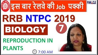 ????7:00 AM RRB NTPC / JE Biology I General science I Reproduction system