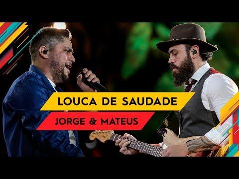Louca de Saudade - Jorge & Mateus - Villa Mix Goiânia 2017 ( Ao Vivo )