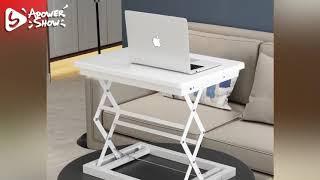 이동식 서서하는 책상 바퀴달린 스탠딩 높이조절