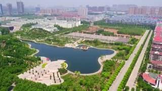 Шаньдунский политехнический университет в высоты птичьего полета
