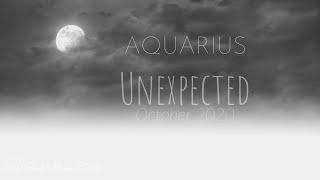 AQUARIUS: ✨The Unexpected ✨| October 2020 | Soul Moon Tarot
