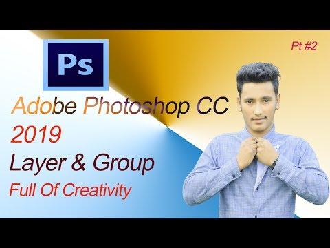 Adobe Photoshop CC Bangla Tutorial  Pt 2  Layer & Group thumbnail