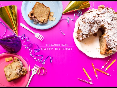 Cinnamon Cake - How To Make Cinnamon Cake With Cinnamon Toast Crunch
