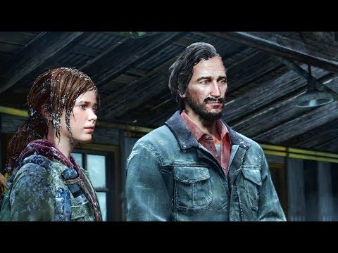 The Last Of Us - Ellie And David The Cannibal (TLOU Stories)