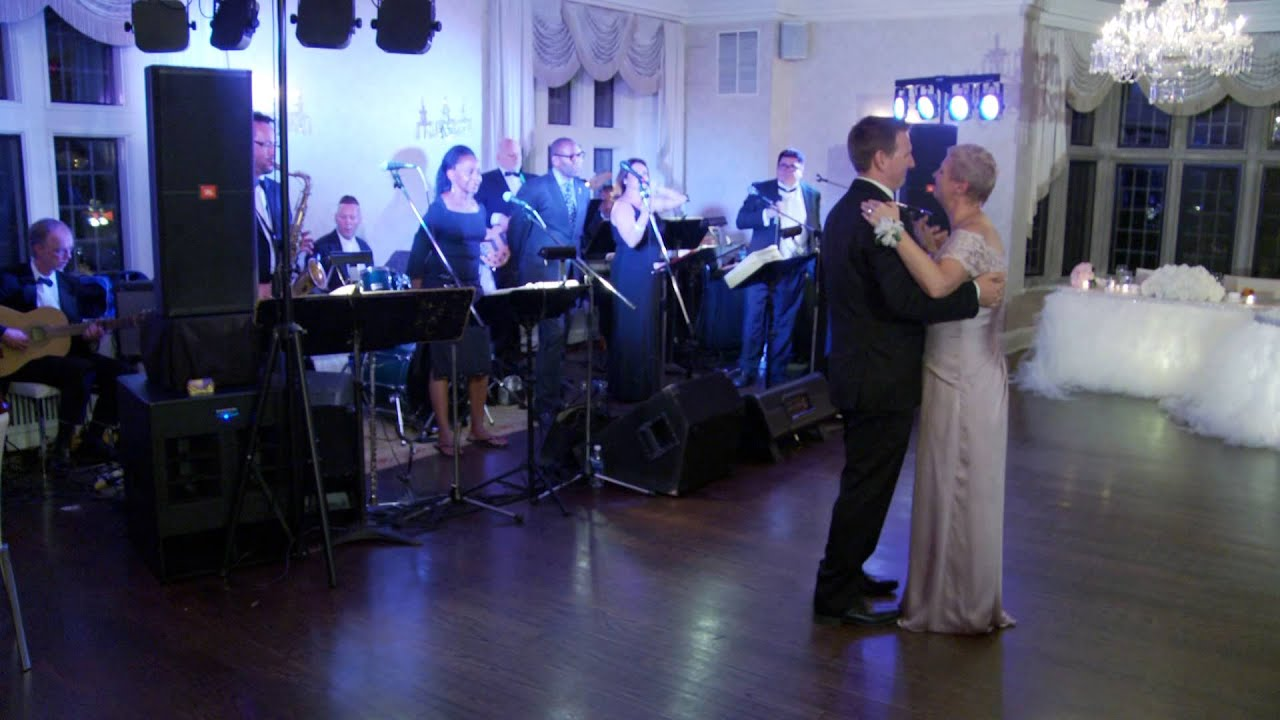 Mother And Son Dance A Wedding Reception Toronto Cinematography