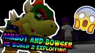 Roblox Exploiting #9 - Aimbot & Bowser!