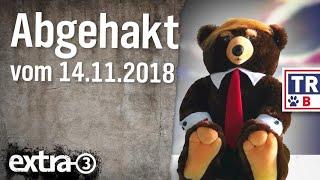 Abgehakt am 14.11.2018