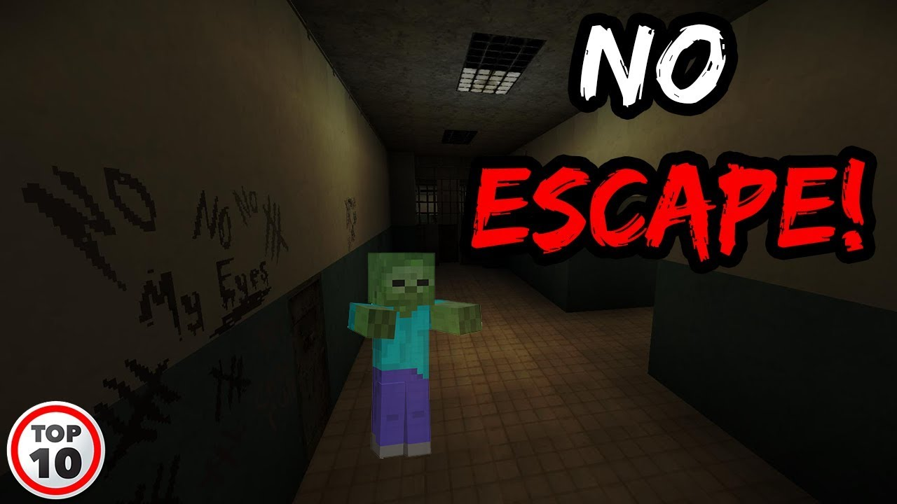 Top 10 Scary Minecraft Maps