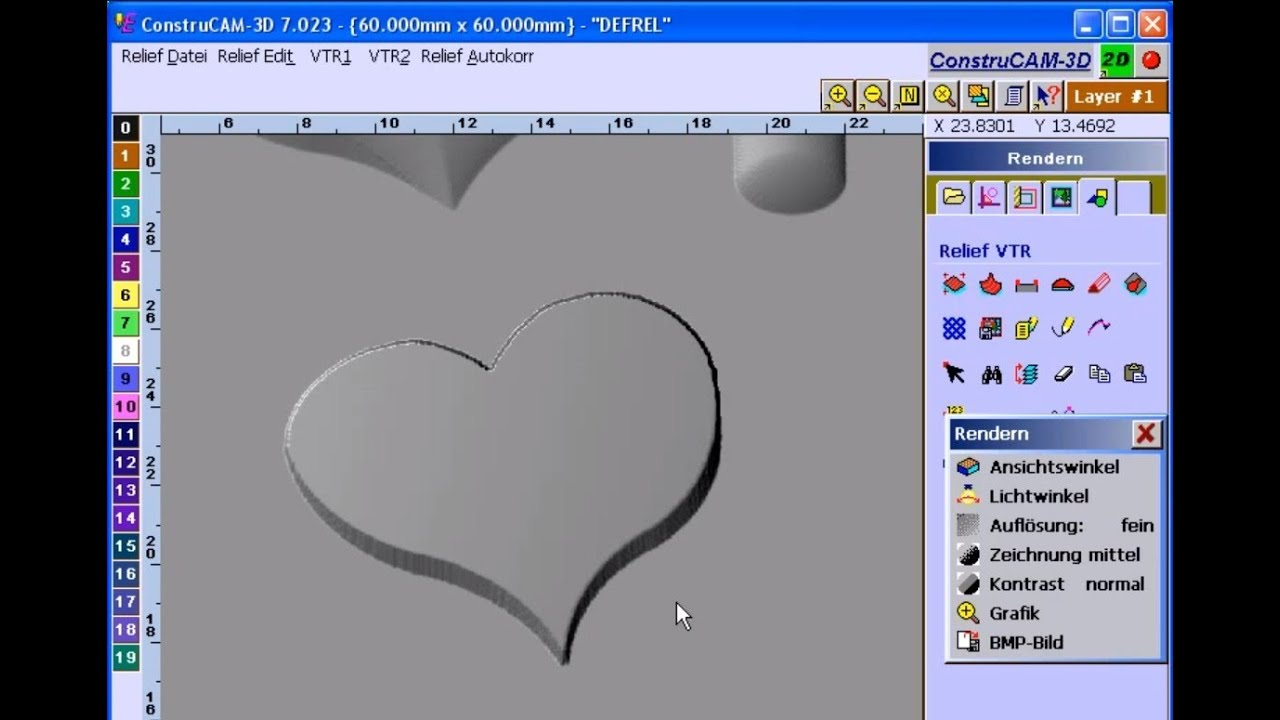 3d Cad Cam Software Stl Objekte Aus Vektorgrafiken F R 3d