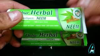 Dabur Herbal Neem Toothpaste (Review)
