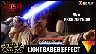 Lightsaber Hitfilm 4 Express Tutorial   Red's Fx