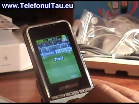 Samsung M3200 Beat hands on