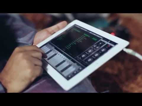 Desh Thillana - Carnatic music on iPad 1st time ever by Navneeth Sundar - Animoog App