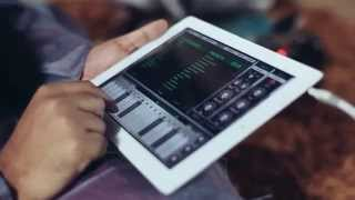 Desh Thillana - Carnatic music on iPad 1st time ever by Navneeth Sundar - Animoog App