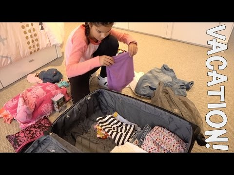 Packing Routine for My Vacation | Grace's Room