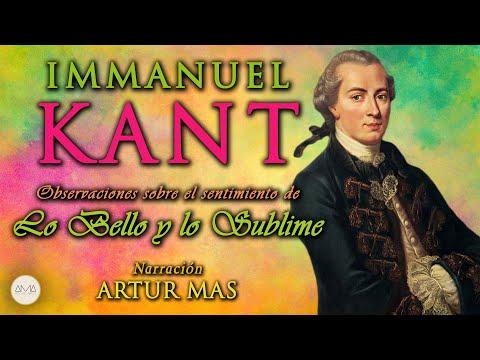 Immanuel Kant - Lo Bello y lo Sublime