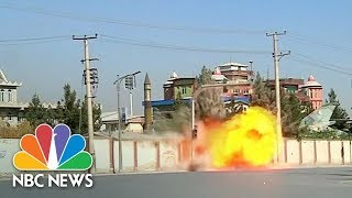 ISIS Claims Deadly Attack On Kabul TV Station | NBC News