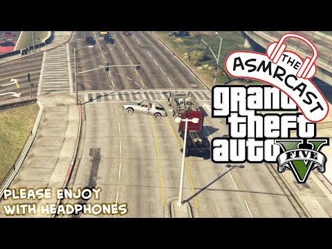 ASMR Gaming - GTA V PC - A Hard Candy & Mouth Sounds Adventure!