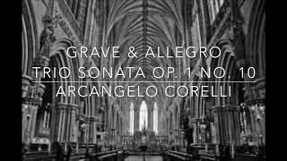 Arcangelo Corelli Trio Sonata Op1 No10 for Brass Trio