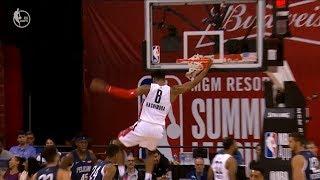 Rui Hachimura Summer League Debut - 7/6/19 Pelicans at Wizards
