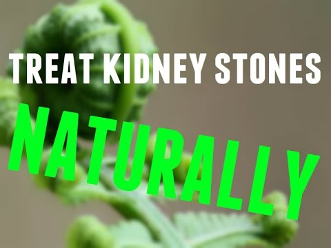 how to get rid of kidney stones fast naturally