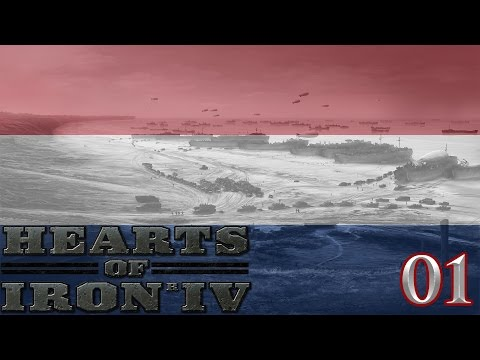 Let's Play Hearts Of Iron IV Netherlands - United Netherlands Achievement Part 1